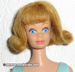 1963 Straight Legs Midge, blonde #860