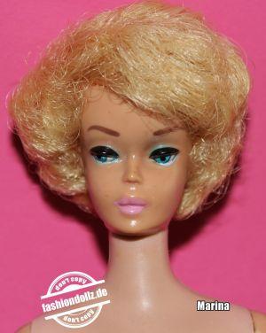 1965 White Ginger Bubble Cut #850