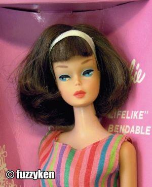 1966 American Girl, brunette long hair