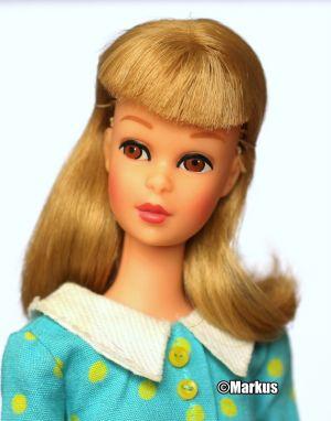 1966 Francie straight legs blonde #1140