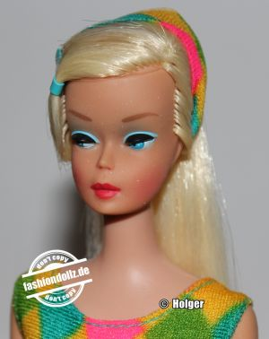1966 Color Magic Barbie, platinblonde #1647