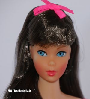 1967 Standard Barbie Doll, brunette #1190