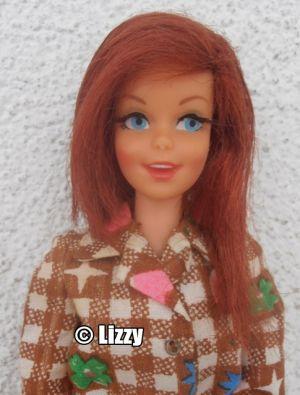1967 Twist N Turn Casey tizian, long hair #1180