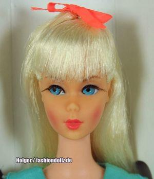 1967  Twist 'n Turn Barbie Doll, blonde (platin) #1160