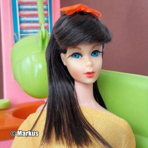 1967  Twist 'n Turn Barbie, chocolate bon bon #1160