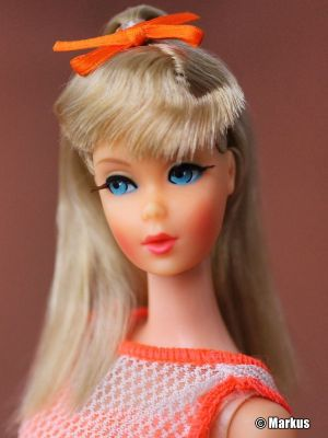 1967  Twist 'n Turn Barbie, blonde (platin) #1160