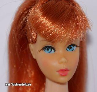 1967  Twist 'n Turn Barbie, titian / redhead #1160