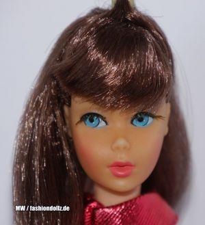 1967  Twist 'n Turn Barbie, red brown #1160