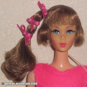 1968 Talking Barbie 1st Edition, light brown #1115
