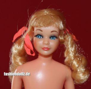 1969 TNT Sausage Curls Skipper, blonde #1105