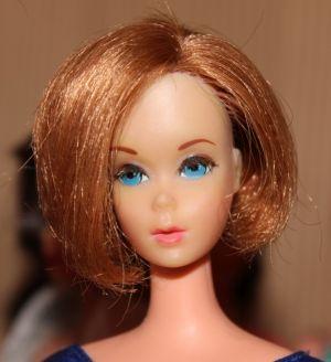 1971 Hair Happenin's Barbie, redhead #1174
