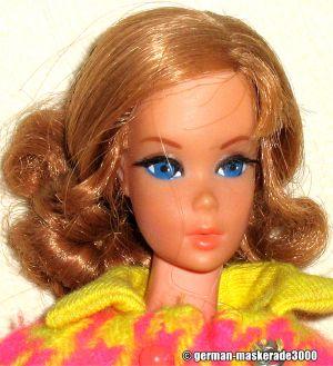 1971 Talking Barbie 3rd Edition, titian #1115