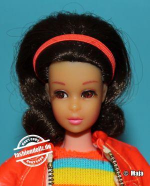 1971 No Bangs Twist and Turn Francie brunette #1170