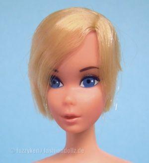 1975 Hair Fair #4044, Europe painted lashes