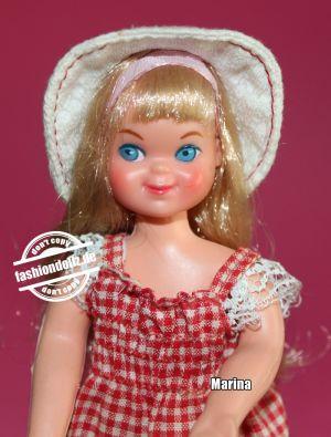 1975 Tutti  Walkin My Dolly #7454