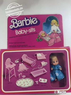 1976 Barbie Baby-sits  #7882