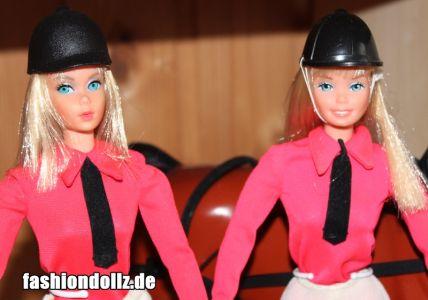 1977 Equestrienne Barbie #9900 & 1979 #9966