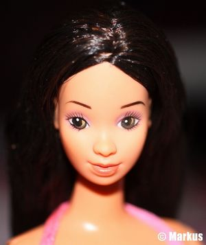 1983 Twirly Curls / Traumhaar Barbie, Hispanic #5724