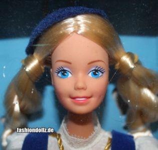1987 Dolls of the World - Icelandic Barbie #3189
