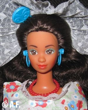 1989  Dolls of the World - Mexican Barbie #1917