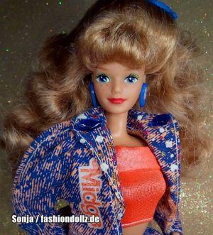1990 Barbie and the Beat / Disco Midge #2752
