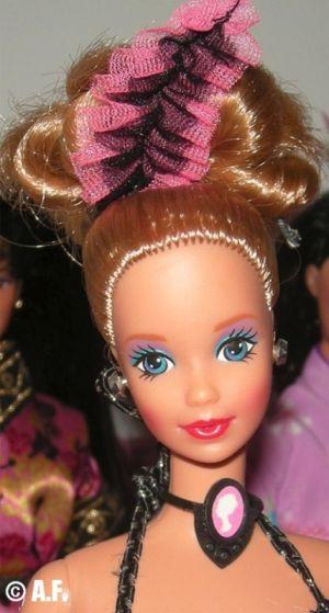 1991 Dolls of the World - Parisian Barbie #9843