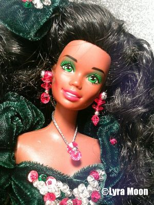 1991 Happy Holidays Barbie AA #2696 Special Edition