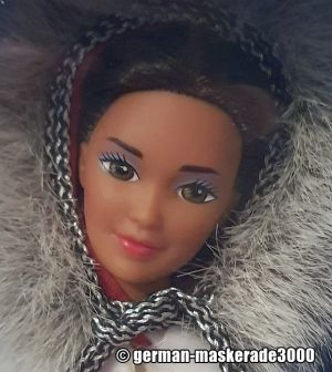1991 Dolls of the World - Eskimo Barbie, 2nd Edition  #9844