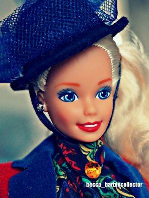 1992 Dolls of the World - English Barbie #4973
