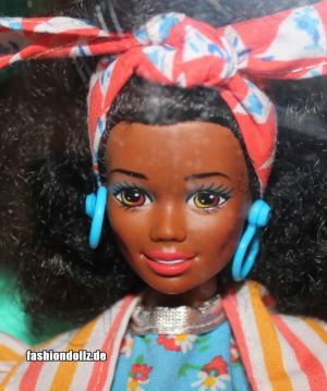 1992 Dolls of the World - Jamaican Barbie #4647