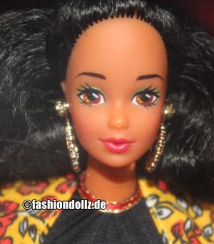 1992 Dolls of the World - Spanish Barbie 2nd Edition #4963