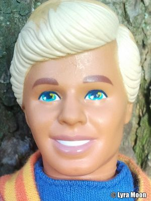 1992 United Colors of Benetton Shopping Ken #6234