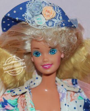 "1992 Teen Talk Barbie, blonde - blue hat ""I really talk"" #4951"