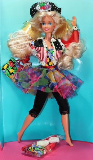 "1992 Teen Talk Barbie, blonde - black hat ""Parlo davvero""  #4838"