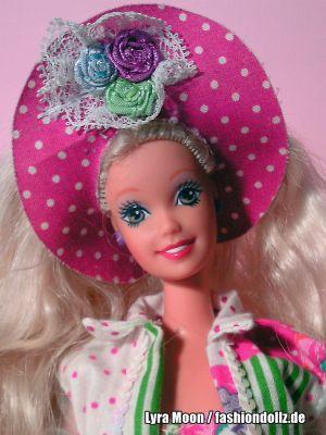 """1992 Teen Talk Barbie, blonde - pink hat """"Ich spreche mit dir"""""""
