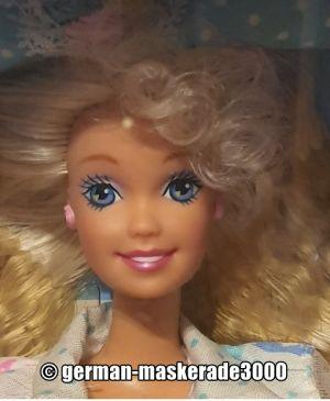 """1992 Teen Talk Barbie, blonde - turquoise hat """"Ik praat met je"""""""