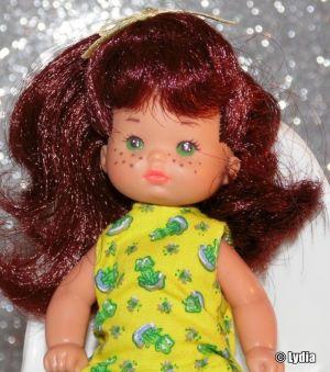 1993 Barbie Li'l Friends (redhead, orange-yellow dress)