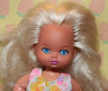 1994 Barbie Li'l Friends Girl (Beach Fun) #11854