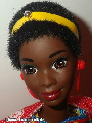 1994 Dolls of the World - Kenyan Barbie #11181