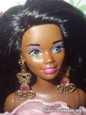 1994 Locket Surprise / Zauber Schatz Barbie AA #11224