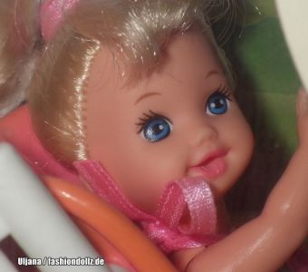 1995 Strollin' Fun Barbie & Kelly #13742