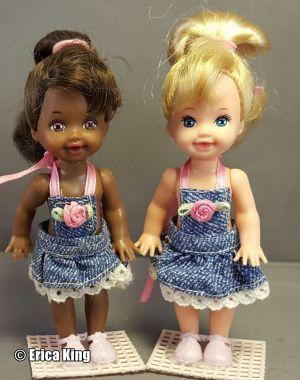 1995 Strollin' Fun Barbie & Kelly  #13743 AA, #13742