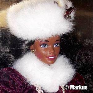 1996 Happy Holidays Barbie AA #15647