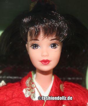 1996 Japanese Happy New Year Oshogatsu Barbie 1.Edition