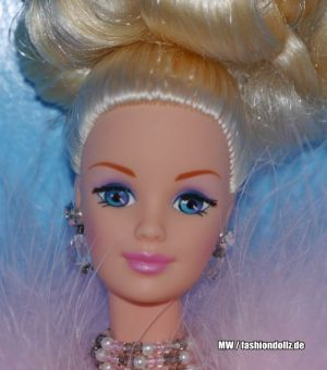 1996 Pink Ice Barbie #15141 Toys R Us Exclusive