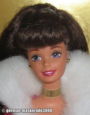 1996 Winter Rhapsody Barbie #16873 Avon Exclusive