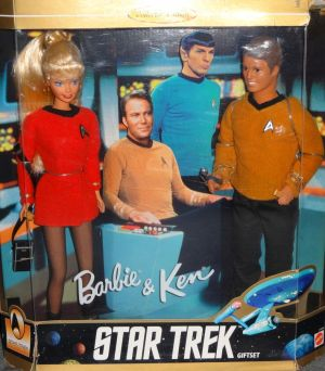 1996 Barbie and Ken 30th Anniversary Star Trek Giftset  #15006