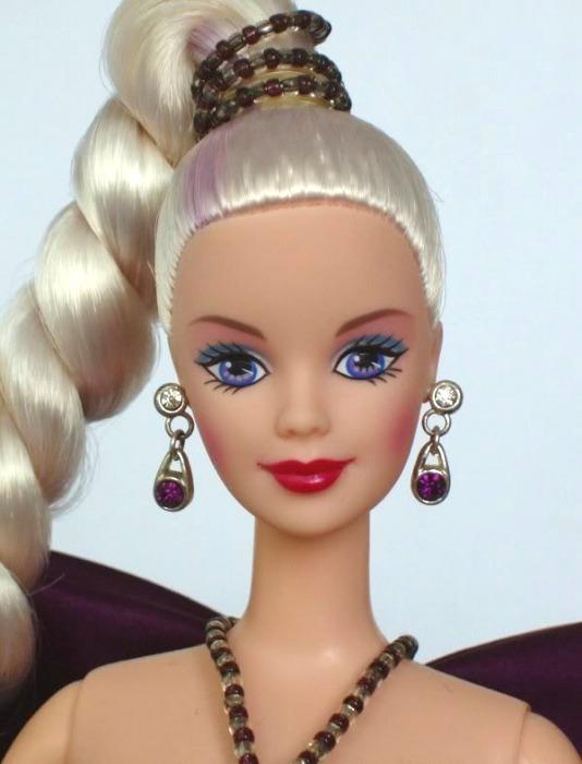 1997 Amethyst Aura Barbie by Bob Mackie #15522