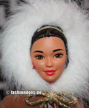 1997 Dolls of the World - Arctic Barbie #16495