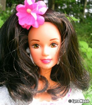1997 Dolls of the World - Puerto Rican Barbie #16754